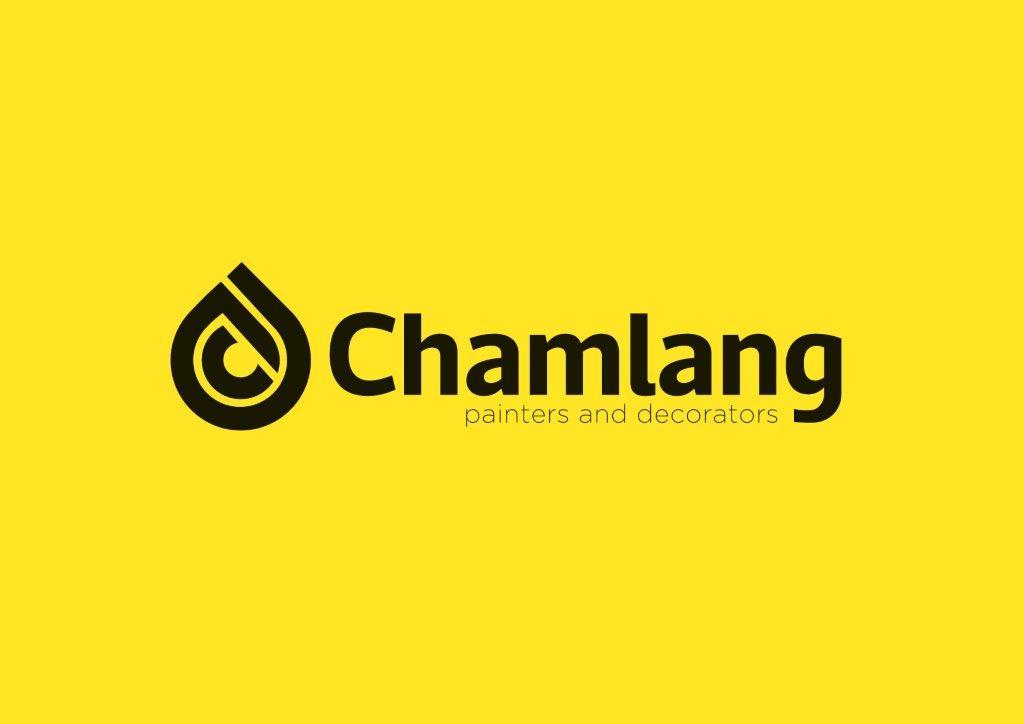 Chamlang Logo_Black on Yellow