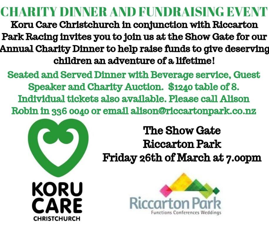 Koru Care Fundraising Dinner
