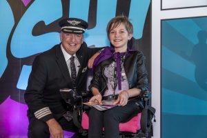 Air New Zealand Little Heroes Flight Koru Care